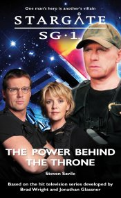 Cover: STARGATE SG-1: The Power Behind the Throne