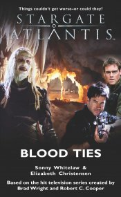 Cover: STARGATE ATLANTIS: Blood Ties