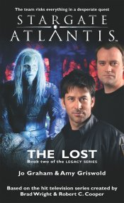 Cover: STARGATE ATLANTIS: The Lost (Book 2 in The Legacy series)